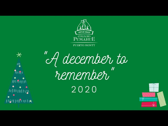 A December to Remember - Pumahue Puerto Montt