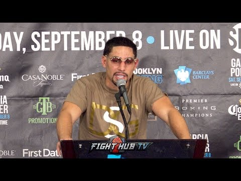 DANNY GARCIA'S FULL POST FIGHT PRESS CONFERENCE - GARCIA VS. PORTER