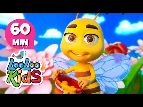 My Little Bee - Learn English with Songs for Children | LooLoo Kids