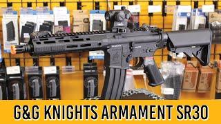 G&G Knights Armament SR30 CQB Airsoft Gun