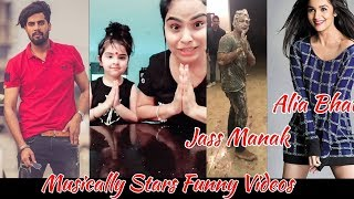 Musically (Tik Tok) Jass Manak || Guri || Alia Bhatt || Singga || B Jay Randhawa  Funny Video 2019