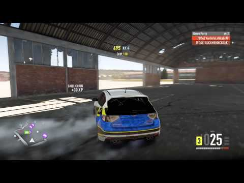 Forza Horizon 2: Gymkhana (attempt)