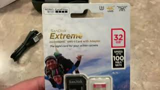 Dji Osmo best micro SD card recommendation