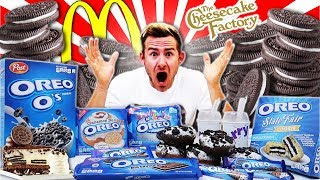 THE OREO OVERLOAD CHALLENGE! (16,000+ CALORIES)