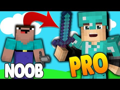 NOOB to PRO in 5 SECONDS.... OMG!   Minecraft SkyBlock Ep: 1