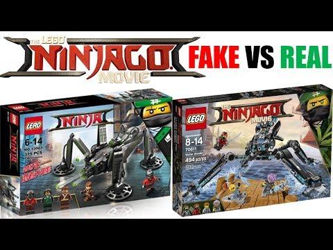 New LEGO Ninjago Movie MEOWTHRA CAT FAKE Set!