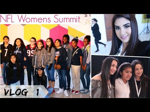 MI PRIMER VLOG / NFL Womens Summit 2017