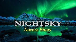 "Фотопроект ""Яркие краски Полярной ночи"" | Solar Storm | HD"