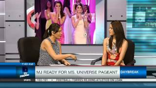 MJ Ready For Ms Universe Pageant