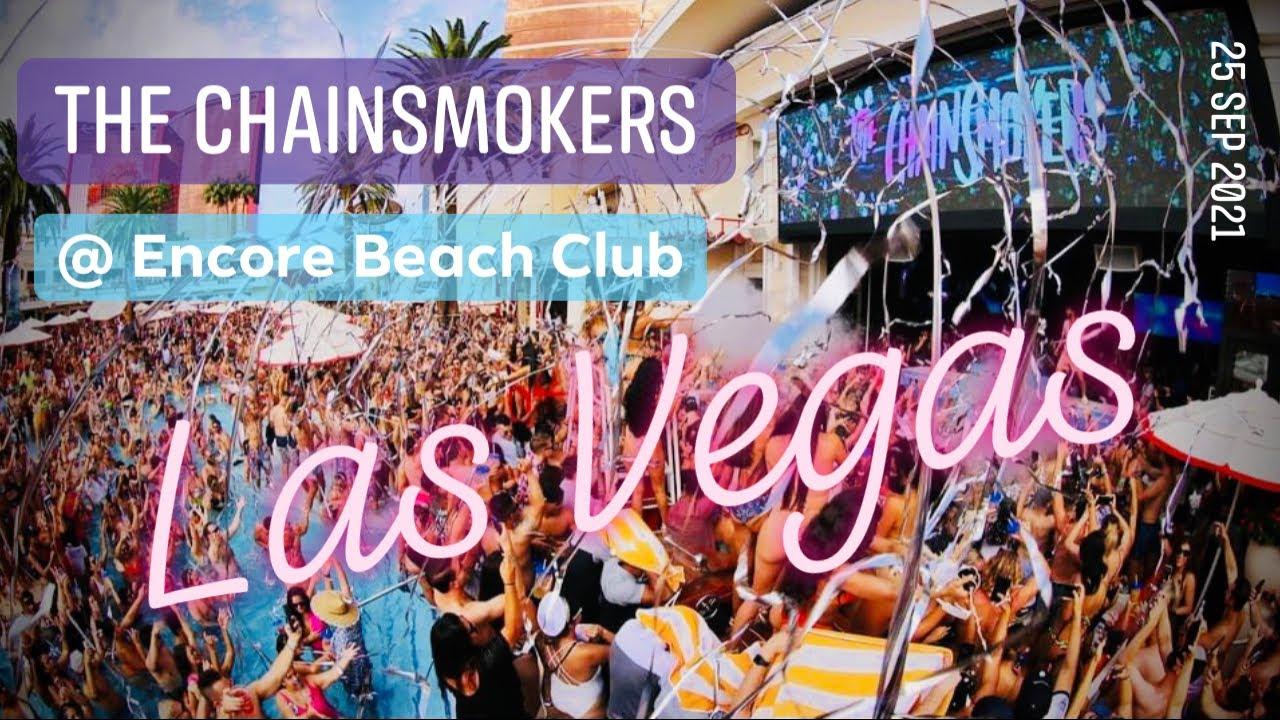 Download The Chainsmokers @ Encore Beach Club Las Vegas - 25 SEP 2021 - Best Pool Parties - Best Nightclubs