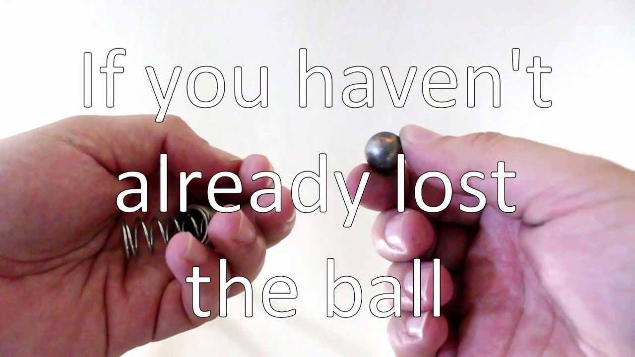 How to Fix a French Door Ball Clasp & How to Fix a French Door Ball Clasp - YouTube