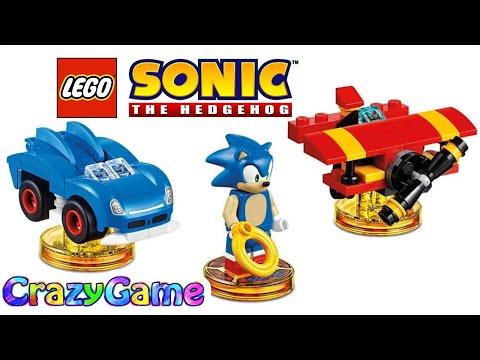 LEGO Sonic The Hedgehog Full Movie  LEGO Dimensions  Cartoon for Children & Kids