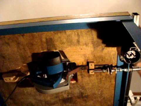 Ascenseur Scie Circulaire Sous Table Youtube
