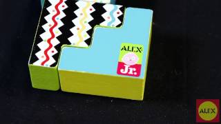 Alex Toys Wooden Whimsy Blocks -1979