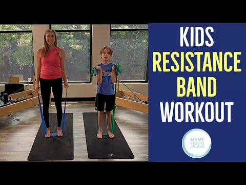 Kids Resistance Band Workout (A Fun Introduction to Fitness for Kids)