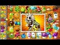 Every Plant Power Up vs JURASSIC BULLY in NEW Plants vs Zombies 2