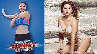 Super Hot Sunny Mornings Core Training Sunny Leone