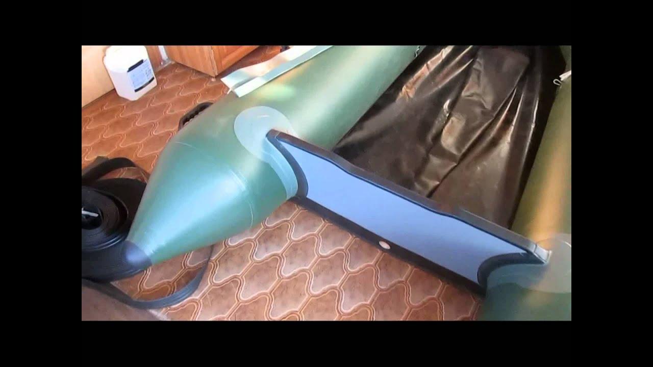 Ремонт транца лодки пвх своими руками видео фото 637