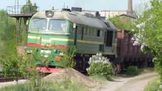 203. [УЗ] Машка + грузовой состав(, 2013-05-04T14:05:25.000Z)