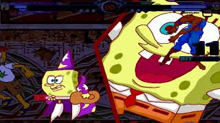 BTW MUGEN - Spongebob and Spider-Man vs. Juan and Sayuri Kurata