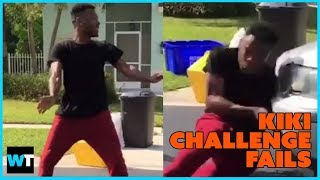 Keke Challenge FAILS – How You Can Get Hurt Doing The #InMyFeelingsChallenge