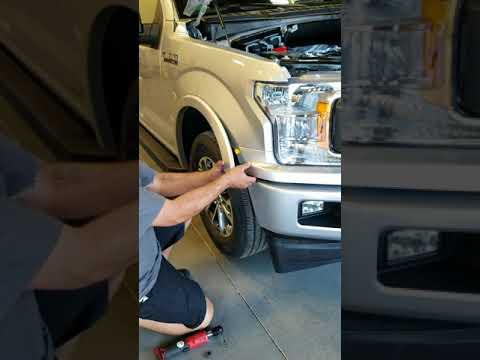How To Remove The Front Grill On A 2018 Ford F150 XLT