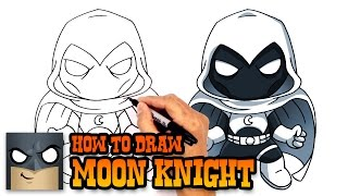 How to Draw Moon Knight | Marvel Comics
