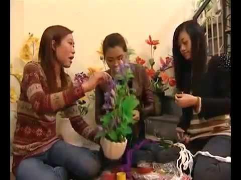 Hoa voan nghệ thuật Artshop - Phát trên kênh VTV 2