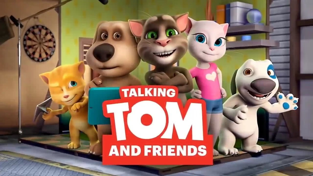 Talking Tom And Friends Theme Song Youtube