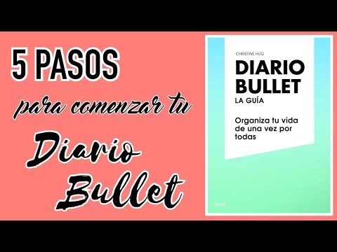 5 pasos, tips y consejos para empezar tu #DiarioBullet | Christine Hug