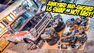 "Here's What NO ONE Tells You About Doing A ""Cheap"" Junkyard LS Swap (NOT EASY)"