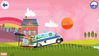 Play Fun Police Adventure Game For Kids - Little Police Station By Fox & Sheep