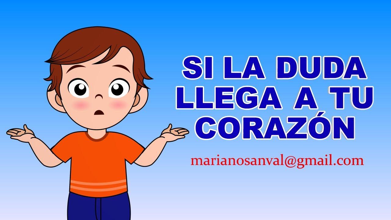 Si La Duda Llega A Tu Corazon Version Karaoke Instrumental Youtube