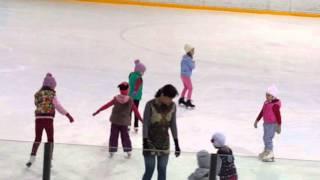Уроки фигурного катания Элина Ким 27.04.16