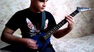 The Unguided - Green Eyed Demon (Guitar Cover)