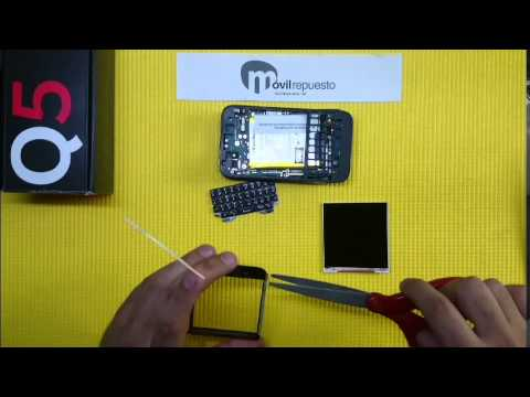 Reparar Digitalizador Tactil Blackberry Q5 - Desmontar y Montar (Disassembly & Assembly)