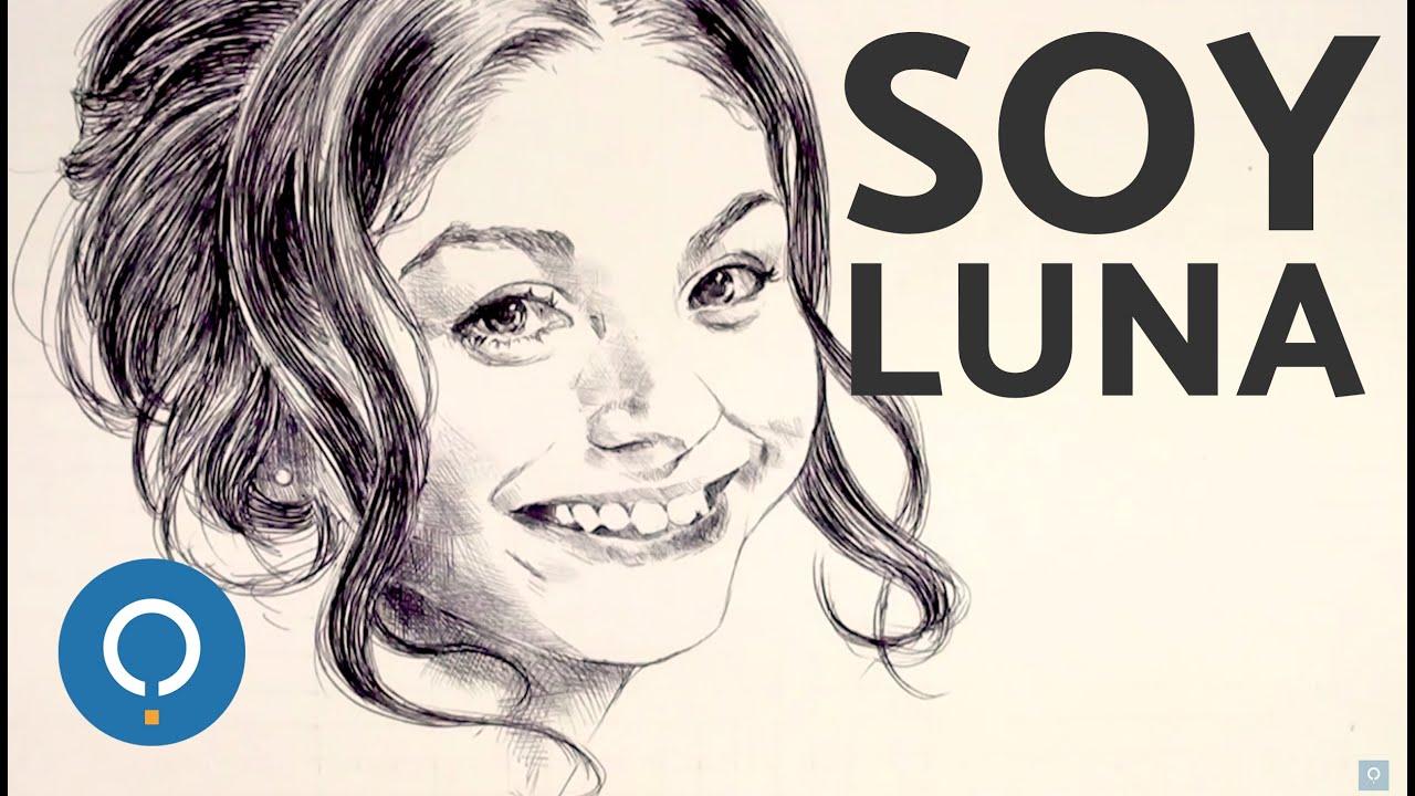 Dibujo de Soy Luna  Speed Drawing  YouTube