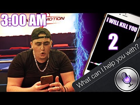 ASKING SIRI YOUR QUESTIONS | DO NOT TALK TO SIRI AT 3:00 AM | *THIS IS WHY* | EVIL SIRI CHALLENGE!!