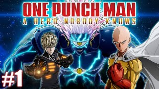 NEW!! One Punch Man: A Hero Nobody Knows PS4/ Xbox Walkthrough Part 1