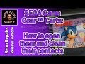 How to Open and Clean a Sega Game Gear Cartridge with Dirty Contacts