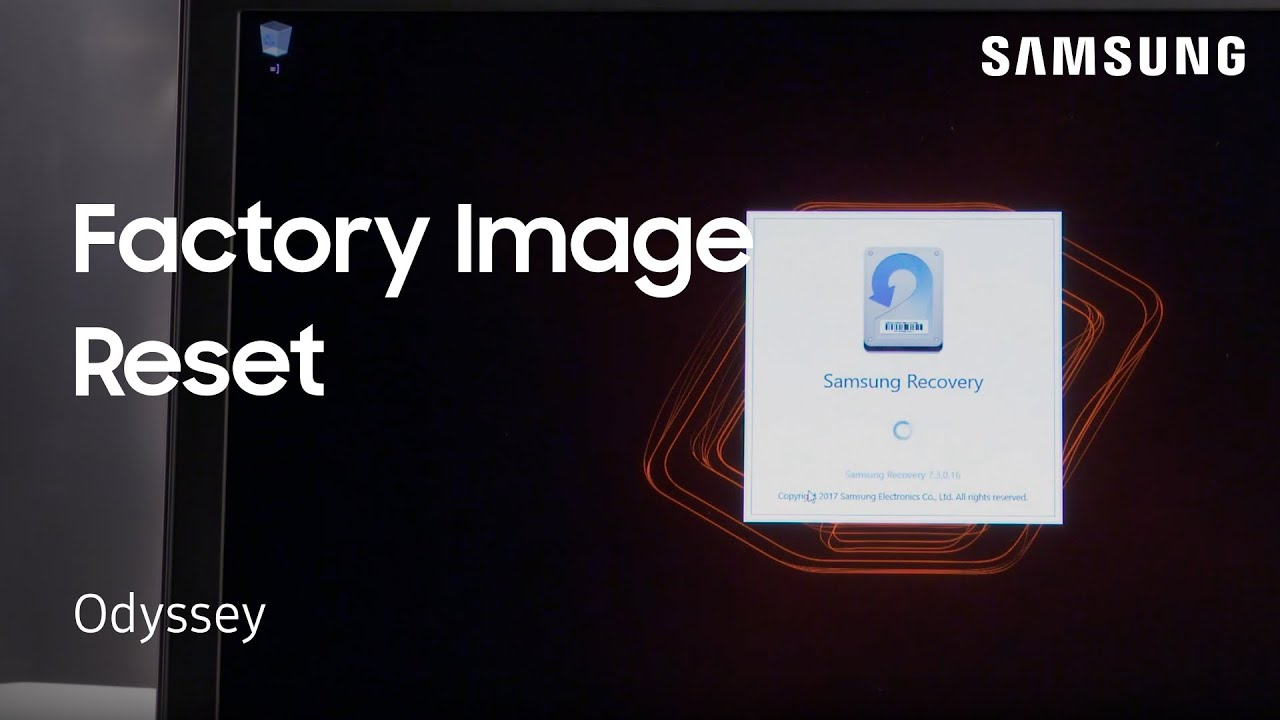 Notebook samsung factory reset - How To Perform A Factory Image Reset On Your Notebook Odyssey