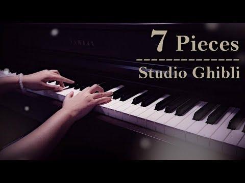 7 Beautiful Studio Ghibli Pieces   Relaxing Piano [15min]