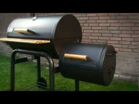 smoker bbq grill eigenbau doovi. Black Bedroom Furniture Sets. Home Design Ideas