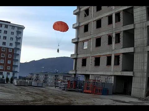 UAV Parachute Drop Test