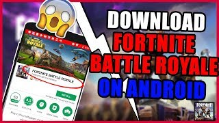 Fortnite Mobile For Android REAL Release date. *NOT CLICKBAIT*