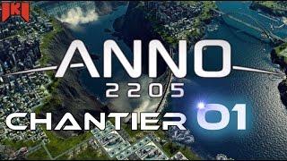 Anno 2205 Gameplay FR - épisode 1 - Présentation, premiers ouvriers et employés