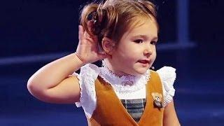 الطفلة المعجزة ذو 4 سنوات تبهرالعالم  بتحدثها 7 لغات فى برنامج أناس مذهلون