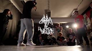 YARKO, KUZYA, CIBILS VS STACHU, CHADZIK, ZAWISZA - EXHIBITION BATTLE podczas   CARRY ON TRADITION 18