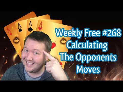 Calculating The Opponents Moves - Weekly Free #268 - Online Bridge Tournament