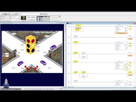 Logixpro Traffic Light Ladder Diagram Carrier Air Conditioning Wiring Logix Pro 500 Simulator Exercise 2. Part 1 | Doovi
